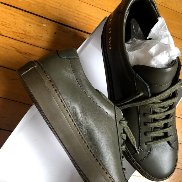 common projects army green cheap online